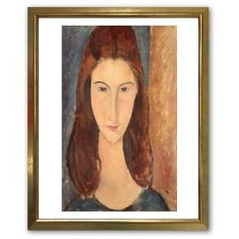 Stampa incorniciata Modigliani 45 x 55 cm