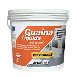 Impermeabilizzante tetti, terrazze, coperture Guaina Liquida grigio 4 L