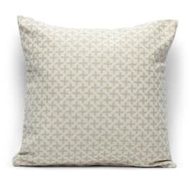Fodera per cuscino Cruz beige 40 x 40 cm