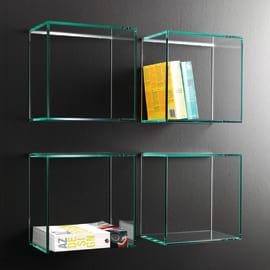 Cubo Kubo Q trasparente L 28 x P 28, sp 0,8 cm