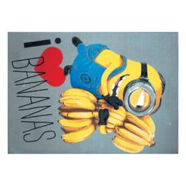 Tappeto Minions bananas multicolore 95 x 133 cm