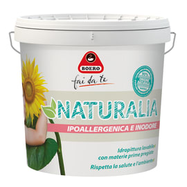 Idropittura lavabile bianca Boero Naturalia 10 L