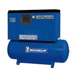Compressore a cinghia Michelin MCX D598-300N, silenziato, 5.5 hp, pressione massima 10 bar