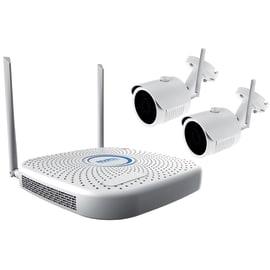 Kit videosorveglianza Isnatch Wi-Fi NVR + cam