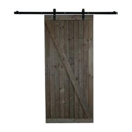 Porta da interno scorrevole Texas marrone 96 x H 220 cm reversibile