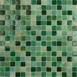 Mosaico Mix all 32,7 x 32,7 cm verde