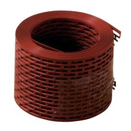 Rete di protezione parapasseri terracotta in PVC 500 x 10 cm