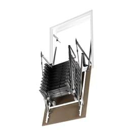 Scala retrattile Aci Alluminio 70 x 80 cm