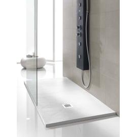 Piatto doccia poliuretano Soft 90 x 70 cm bianco