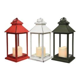 Lampada lanterna a batterie in colori assortiti