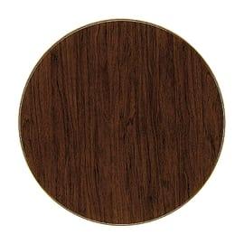 Piano tavolo ø 70 cm marrone