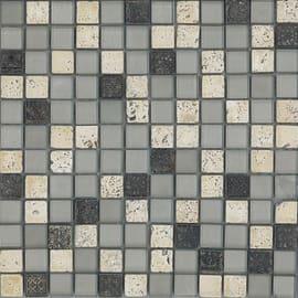 Mosaico Crystal 30 x 30 cm grigio, argento