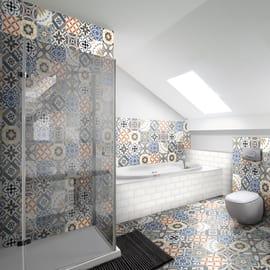 Rivestimenti bagno piastrelle bagno mattonelle e ceramiche - Catalogo piastrelle bagno leroy merlin ...