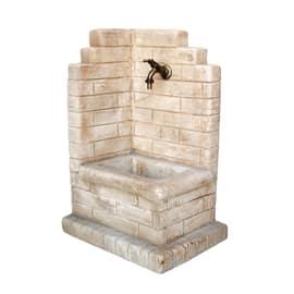 Fontana a colonna Paolo nocciola