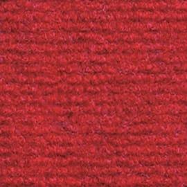 Moquette agugliata al taglio Riva rosso 200 cm