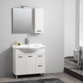 Mobili bagno prezzi e offerte mobiletti bagno sospesi o a for Leroy merlin lavatoio con mobile