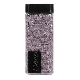Sassi vetro decorativi rosa 0,8 g