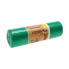 Sacco rifiuti 120 x 80 cm verde 10 pezzi