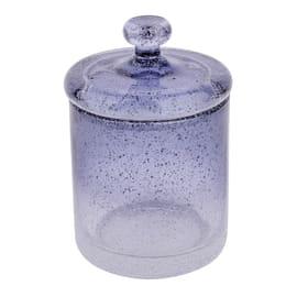 Porta cotone Atmosphere trasparente/blu