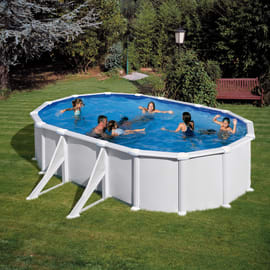Piscine fuori terra e piscine gonfiabili offerte e prezzi - Piscina plastica rigida ...