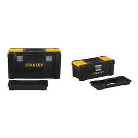 "Kit 2 cassette per trapano e utensili e smerigliatrice Stanley Bonus pack 13""-19"""