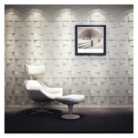 Rivestimento decorativo Blocks bianco