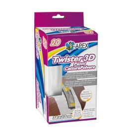 Panno Apex Twister 3D polvere tessuto sintetico