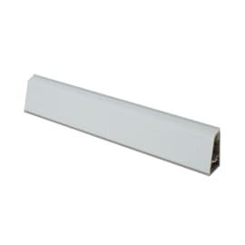 Alzatina su misura Gabbiano alluminio grigio H 3 cm