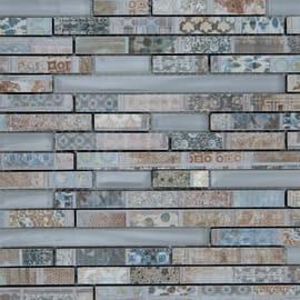 Mosaico Strip 33 x 29,5 cm multicolor