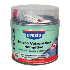 Stucco Vetroresina riempitivo Presto grigio 1000 g