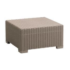 Tavolino California, 68 x 68 cm caffè