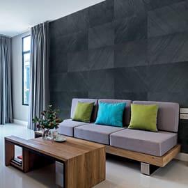 Rivestimento decorativo Black shadow grigio