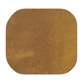 Portabiancheria Cuscino componibile quadro microfibra senape