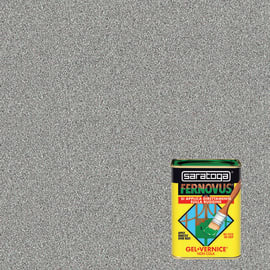 Smalto per ferro antiruggine Saratoga Fernovus grigio medio metallizzato 0,75 L