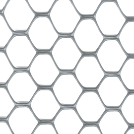 Rete Exagon H 0,5 x L 5 m argento
