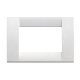 Placca 3 moduli Vimar Idea bianco brillante