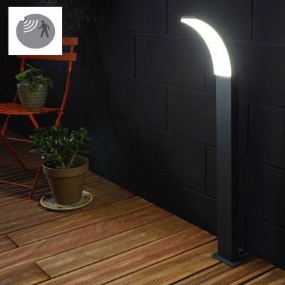 Lampioncino con sensore di movimento lakko h56cm prezzi e for Leroy merlin illuminazione esterno