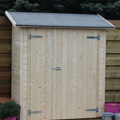 Casetta in legno grezzo linz 0 87 m spessore 15 mm for Casette di legno leroy merlin