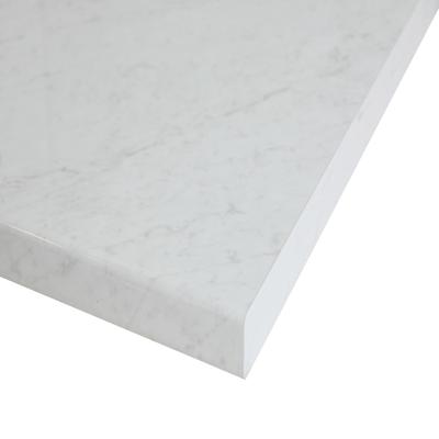 Piano cucina su misura laminato Marmo Apuano bianco 4 cm prezzi e ...