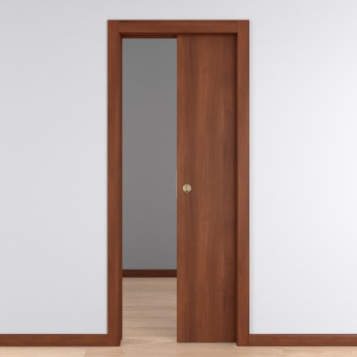 Porta da interno scorrevole schubert 70 x h 210 cm for Leroy merlin porta scorrevole