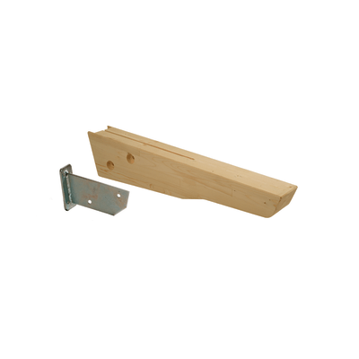 Supporto per tettoia martini l 18 x p 106 cm prezzi e for Tettoia legno leroy merlin