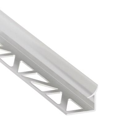 Profilo angolare interno alluminio 10 mm x 250 cm prezzi e for Profilo alluminio led leroy merlin