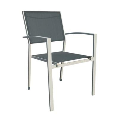 Sedia impilabile tokyo grigio prezzi e offerte online - Sedie per esterno economiche ...