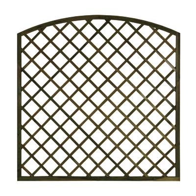 Grigliato ad arco 180 x 180 cm prezzi e offerte online for Tralicci leroy merlin