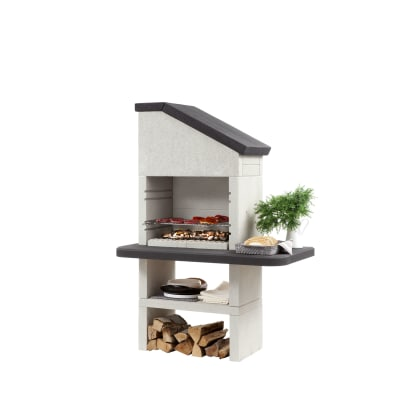Barbecue in muratura con cappa dubai prezzi e offerte for Leroy merlin barbecue in muratura