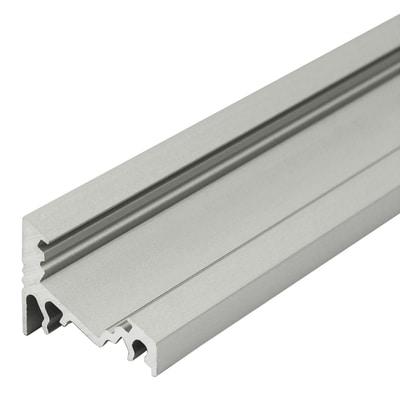 Profilo angolare alluminio 2m prezzi e offerte online for Profilo alluminio led leroy merlin