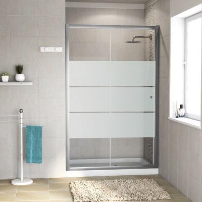 Porta doccia scorrevole dado 137 140 h 185 cm cristallo 5 for Porta doccia leroy merlin