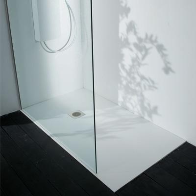 Piatto doccia acrilico boston 100 x 70 cm bianco prezzi e for Cabine doccia prezzi leroy merlin