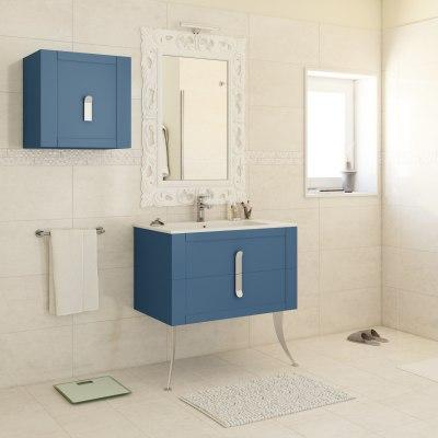 Mobile bagno Barocco avio L 85 cm prezzi e offerte online | Leroy Merlin