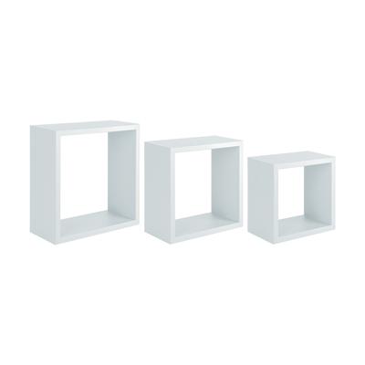 Set 3 Cubi Spaceo Bianco Sp 1 2 Cm Prezzi E Offerte Online Leroy